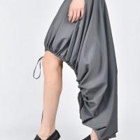 Extravagant Loose Grey Skirt A09496