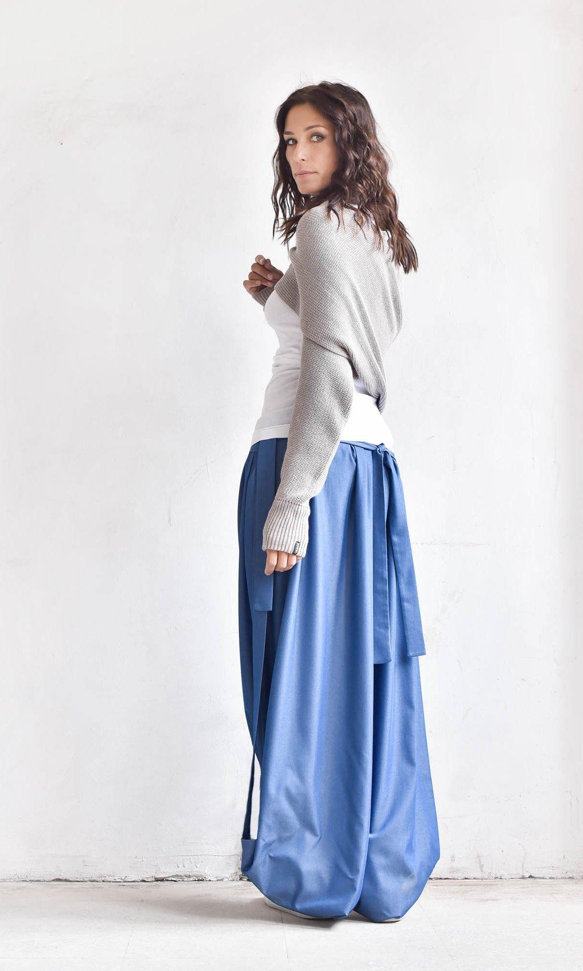 Avant-garde High Low Skirt