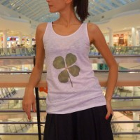 Printees - Lucky Clover Print Tank Top A044020277