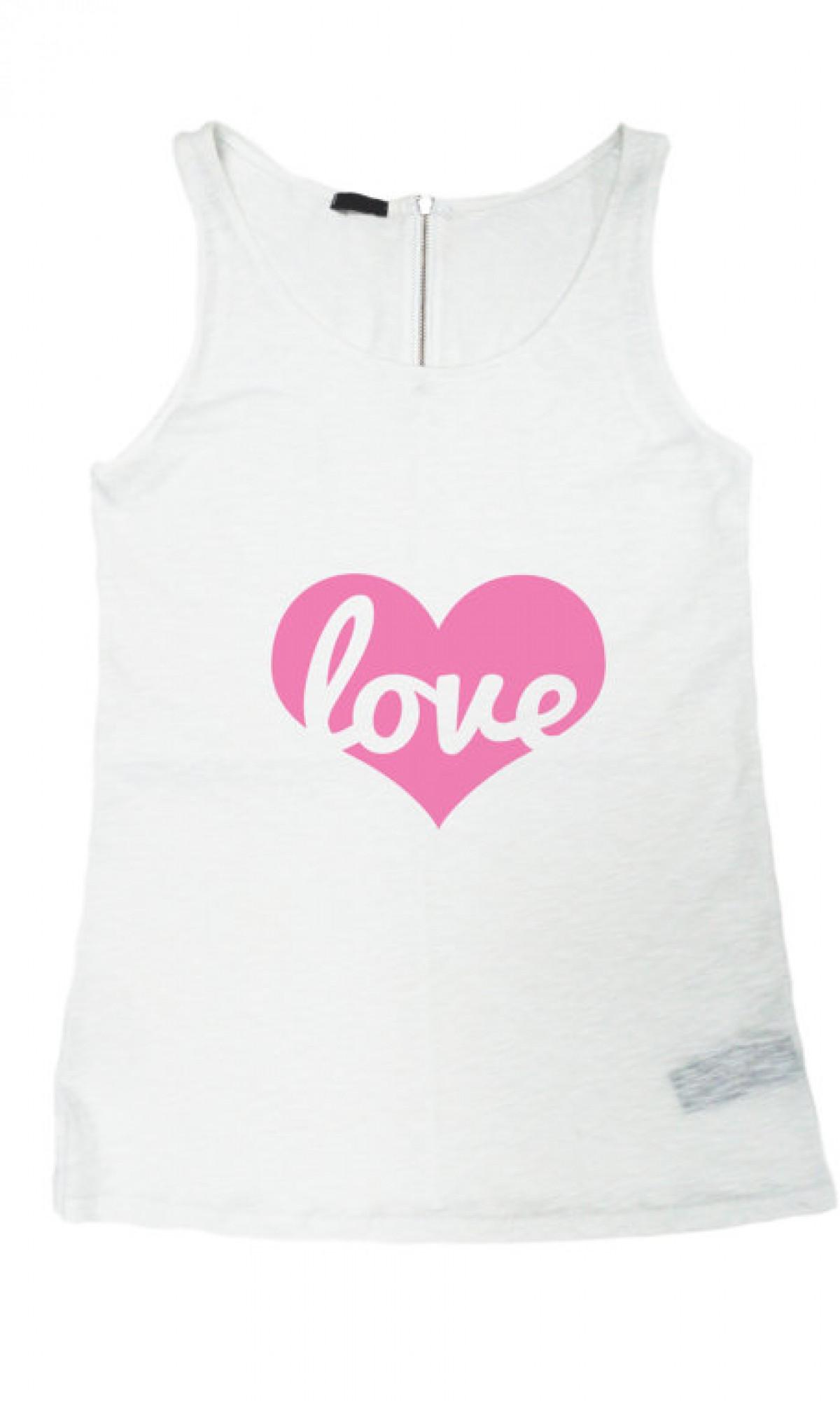 Printees - Love Print Tank Top A044020147