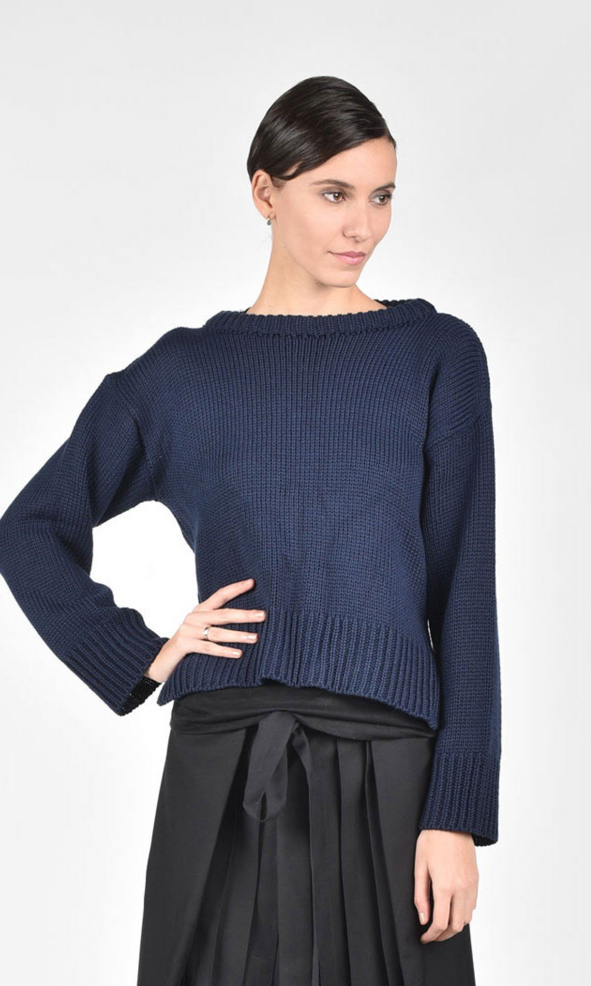 Loose Knit Sweater A12369