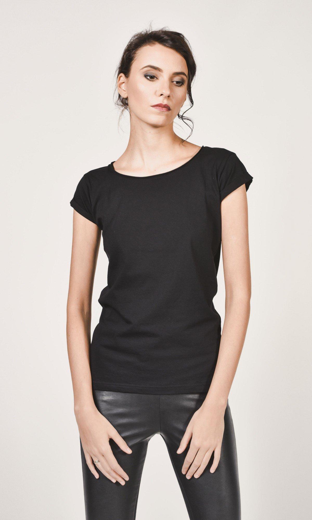 Plain short sleeve t-shirt A22685