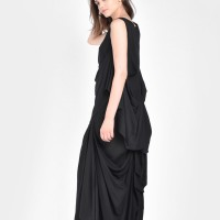 Maxi Extravagant Draped Top A04657