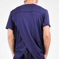 Men T-shirt with Extravagant Back A90100M