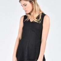 Asymmetric Puzzle Sleeveless top A04658
