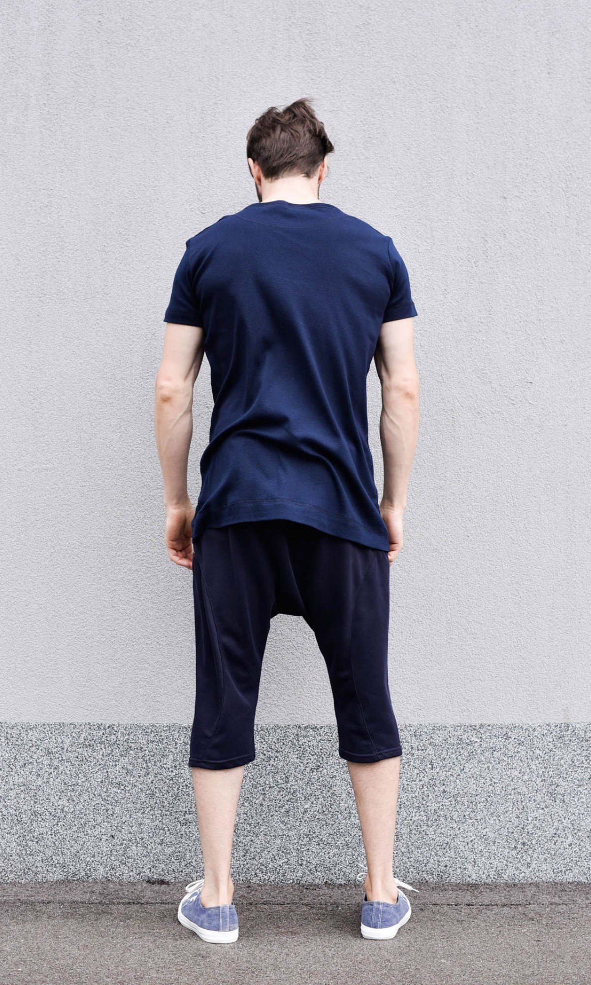 Casual Plain T-shirt A90337M