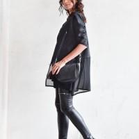 Aakasha New Short Sleeve Linen top A90339