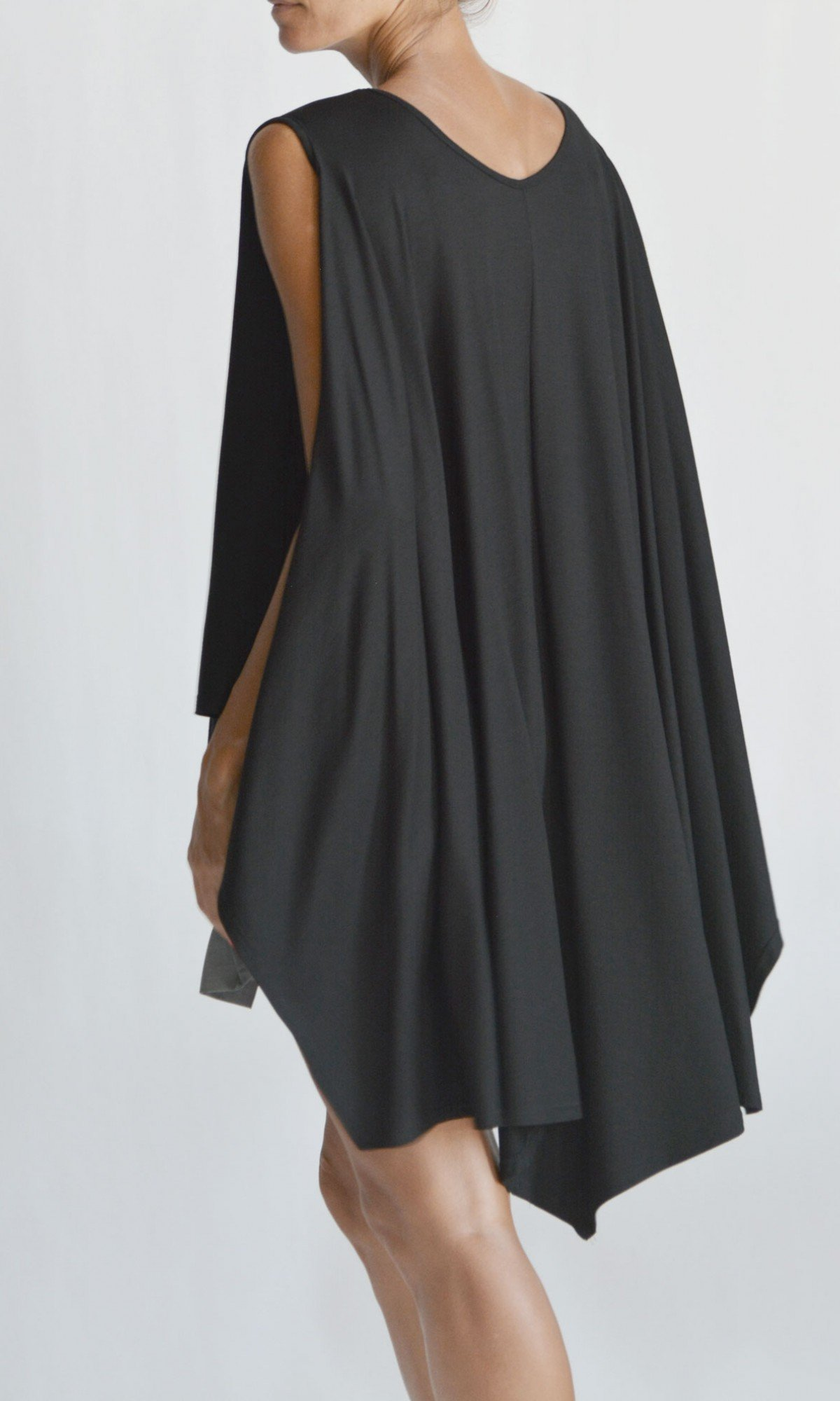 Elegant Flared Maxi Top A90582