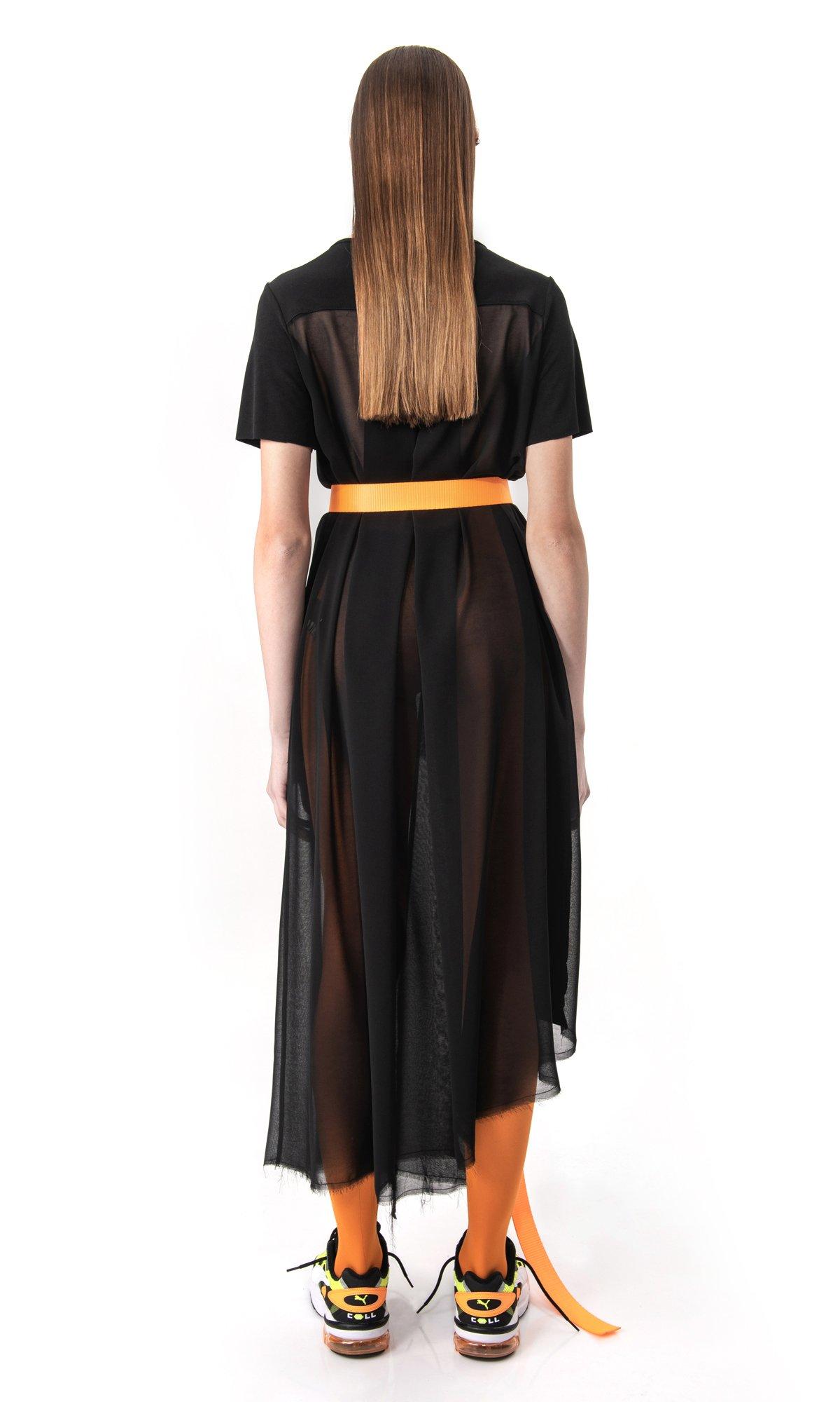 Elegant Short Sleeve Tunic A90587