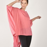 Loose Blouse with Wide Sleeves A02170