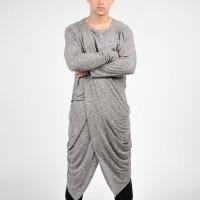 Grey Soft Shirt A02241M