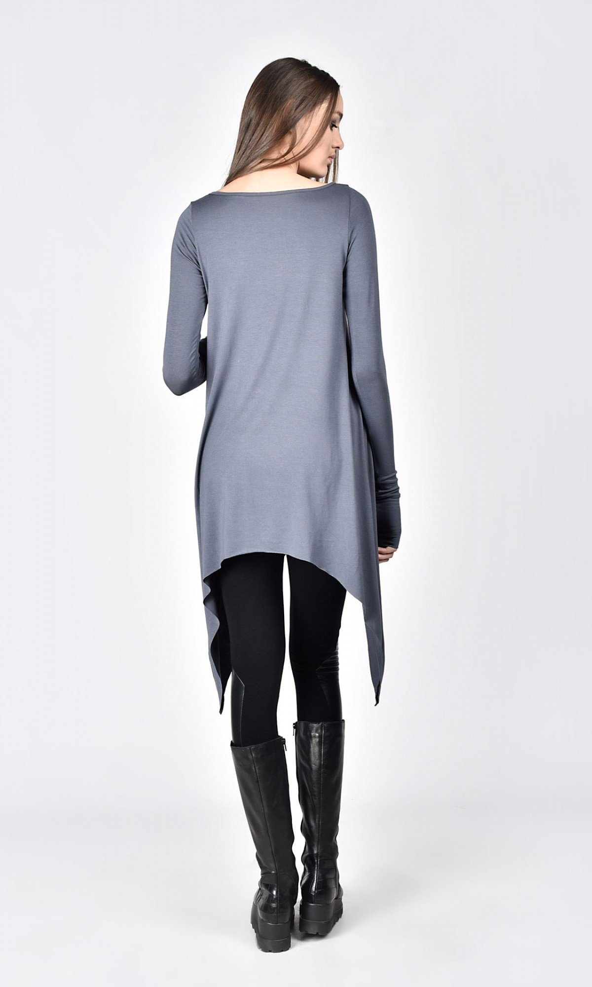 Elegant Loose Tunic with long sleeves A02774