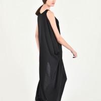 Extravagant One Sleeve Tunic dress A90237
