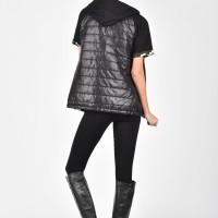 Elegant Full Zip Camo Vest A20586