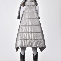 Quilted Asymmetric Short Jacket A20675