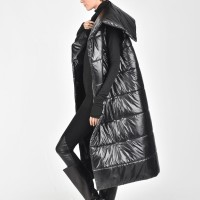 Quilted High Collar Vest A20674