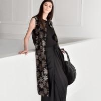 Elegant Long Floral vest A90207
