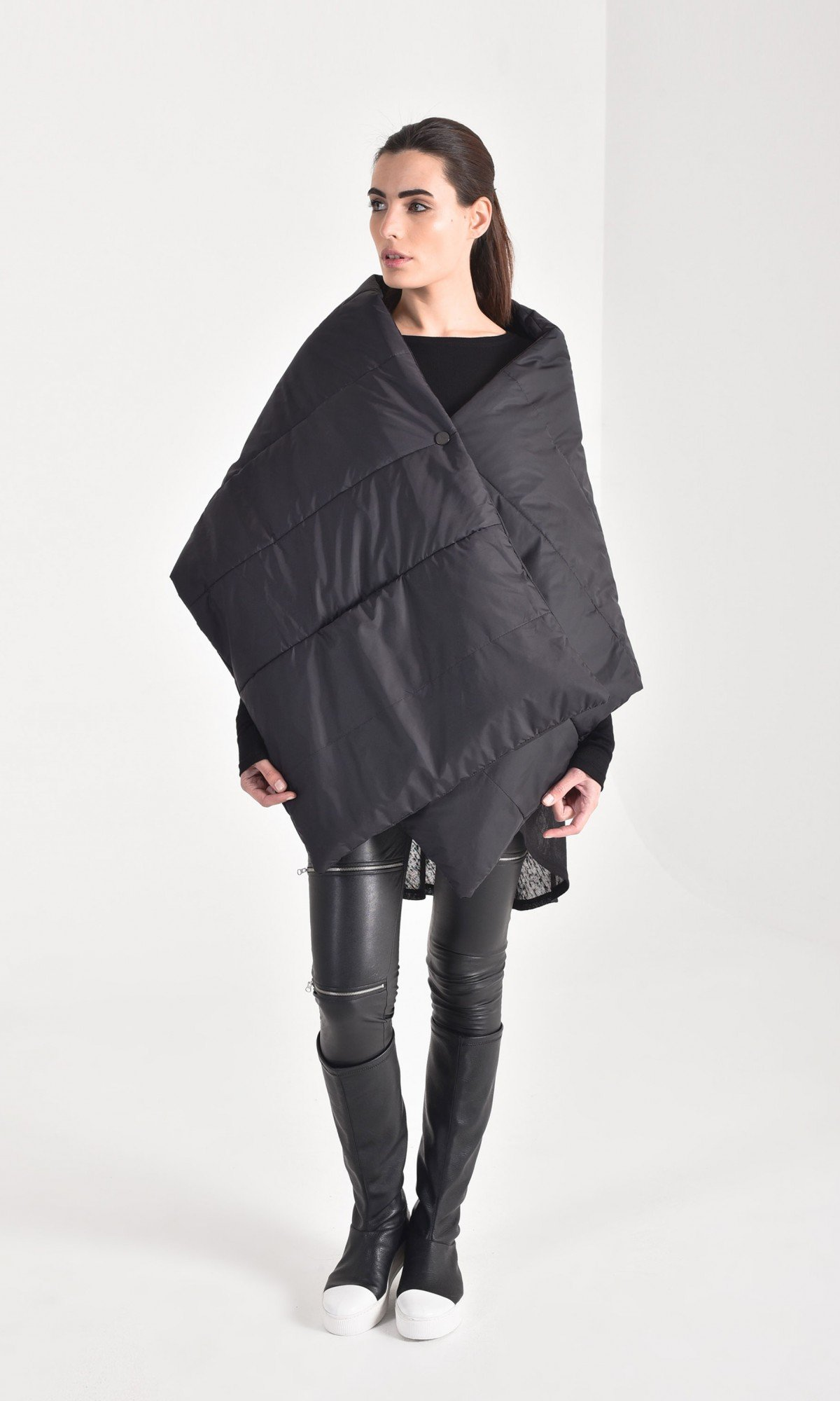 Extravagant Padded Scarf Vest A20886