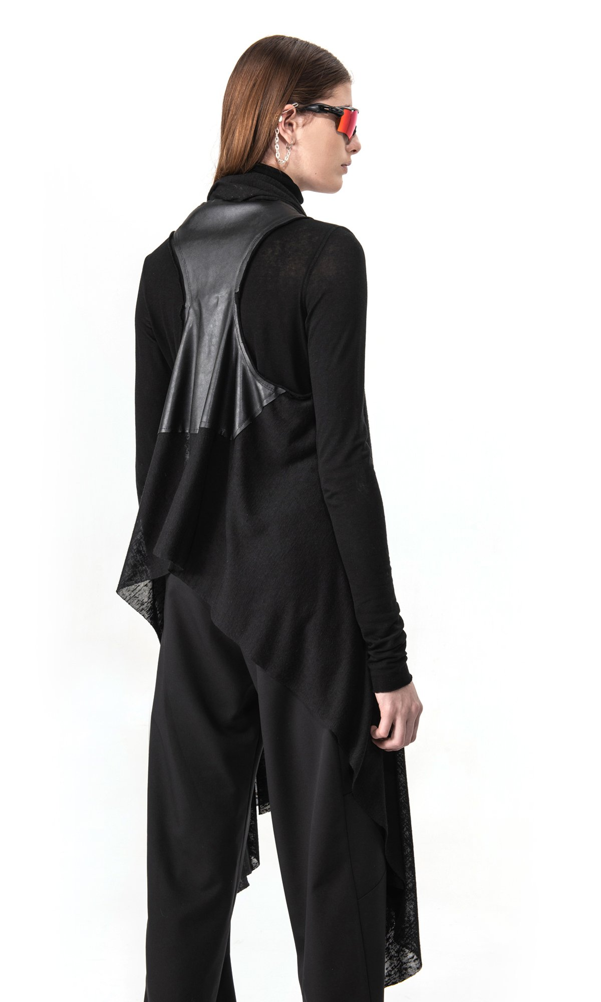 Elegant two layer vest