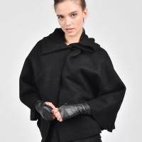 Black Sexy Sleeveless Gloves A18500