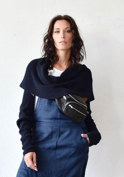 Knitted Long Sleeve Bolero/Shrug A90277