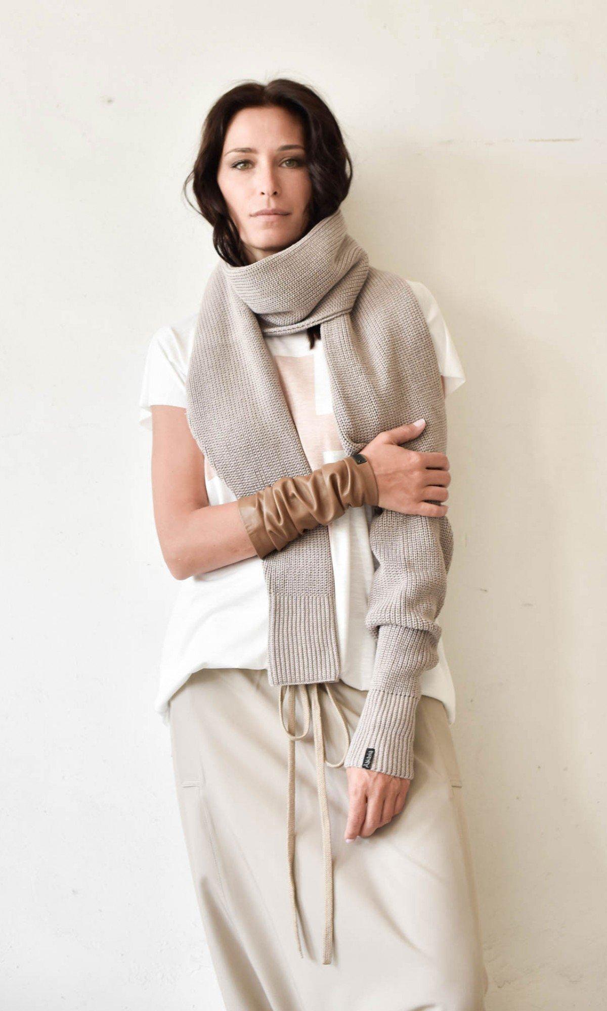 Knitted Long Sleeve Bolero/Shrug A18736
