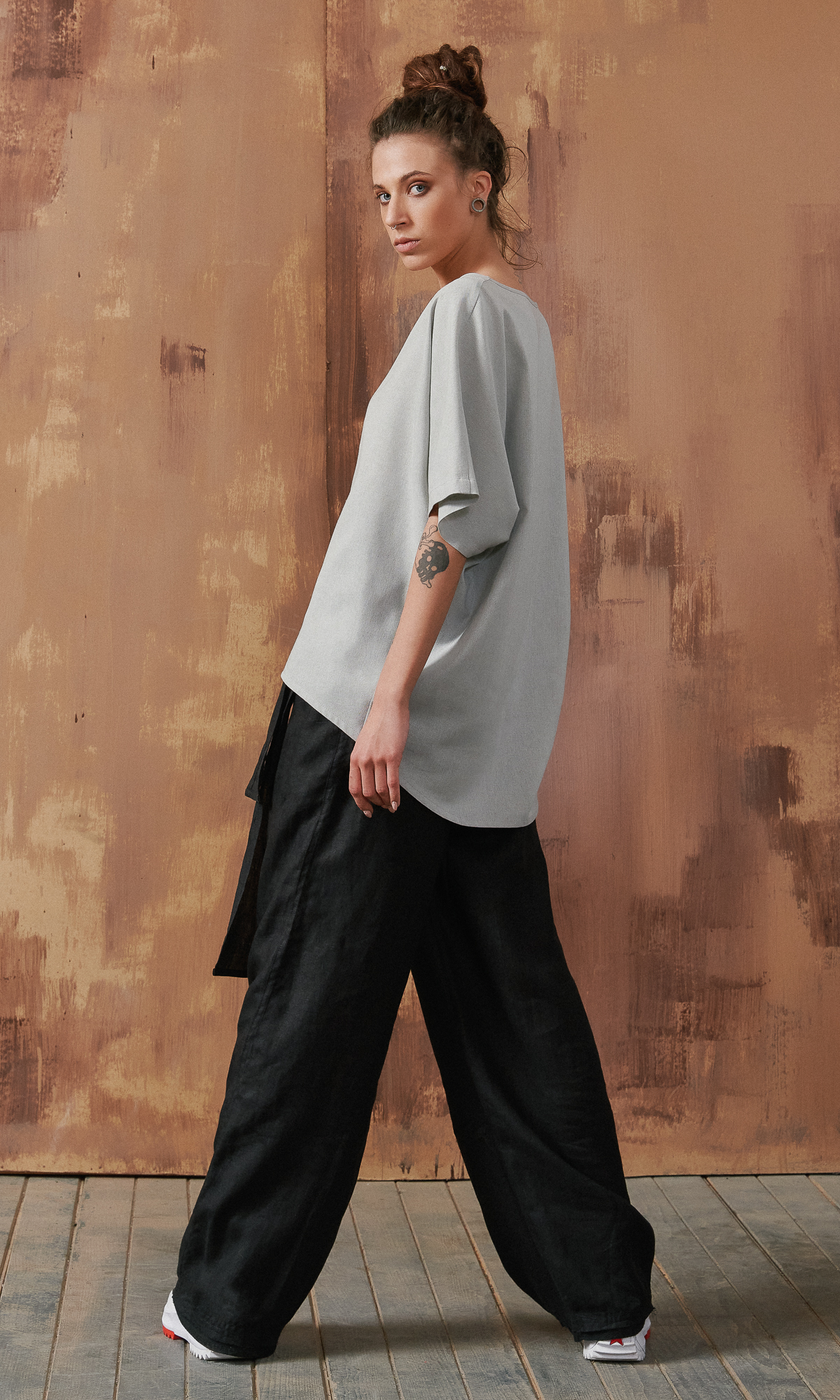 Kimono Linen Blouse