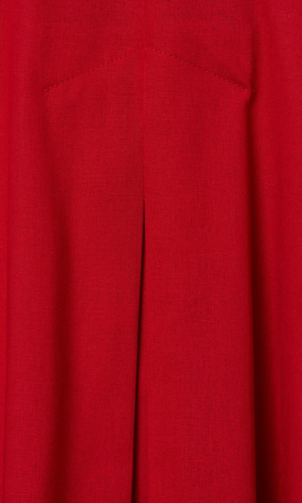 Inverted Pleat Mini Dress