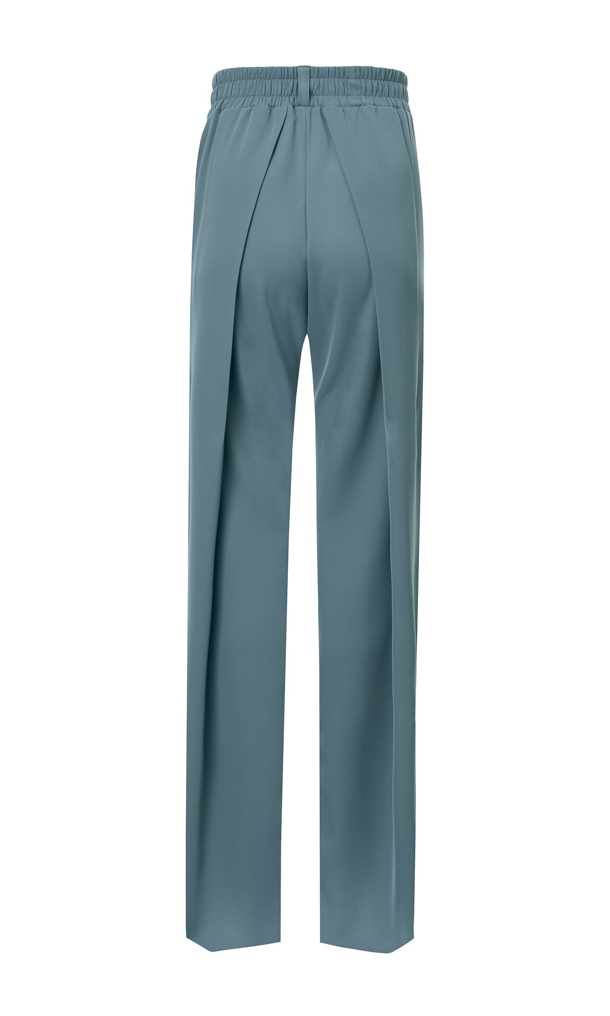 Straight Blazer & Wide Tuck Pants Suit