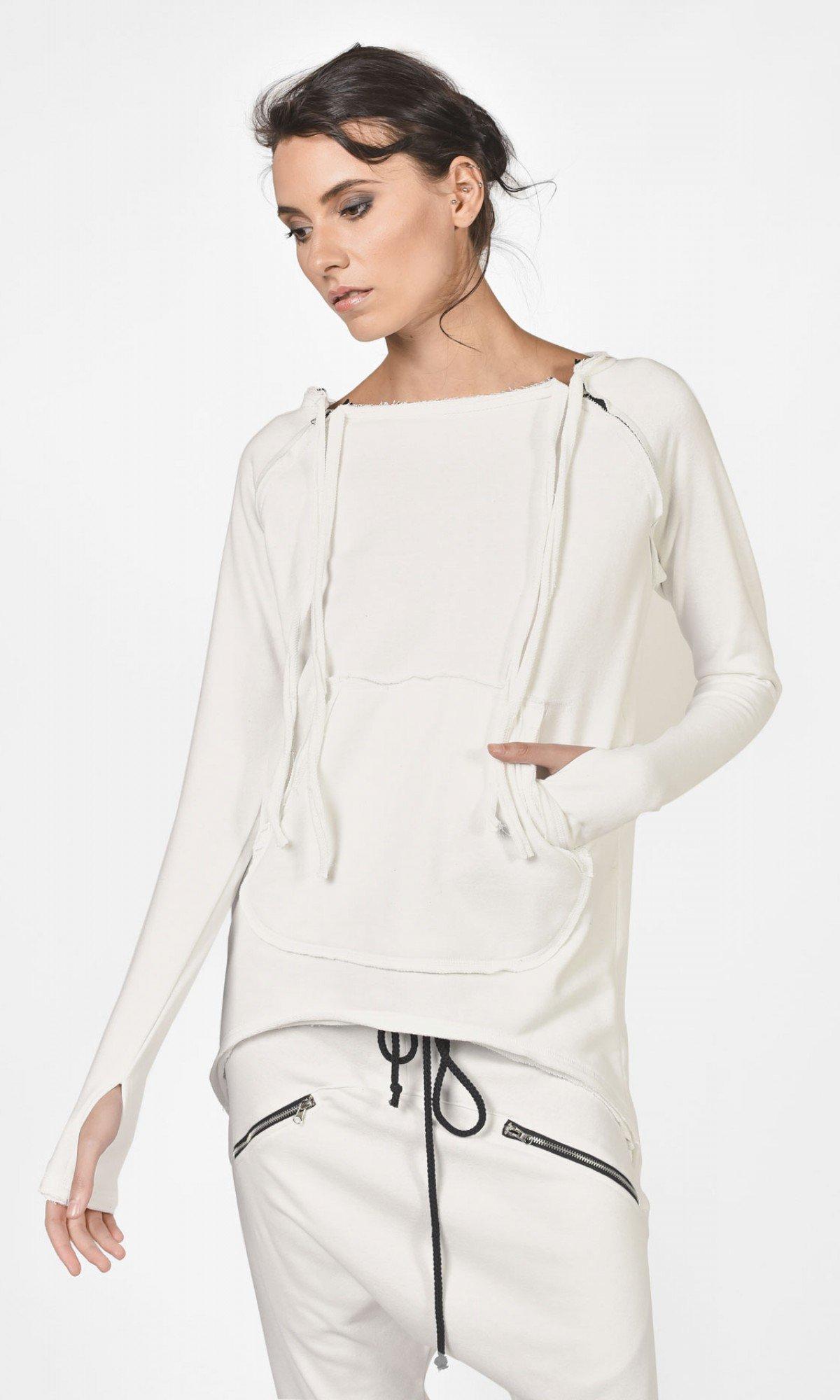 Arm Zipper Sweatshirt