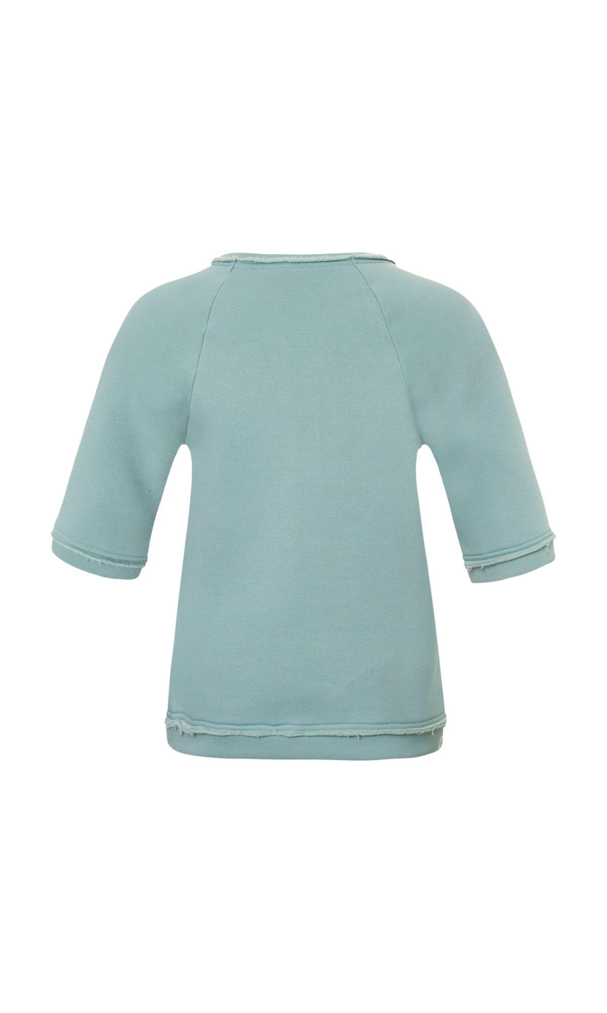 Mid Sleeve Warm Sweatshirt