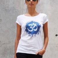 Printees - White Cotton Omm T-shirt A224330329