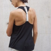 Tank top - Hot Sexy Black Tank Top A044030325