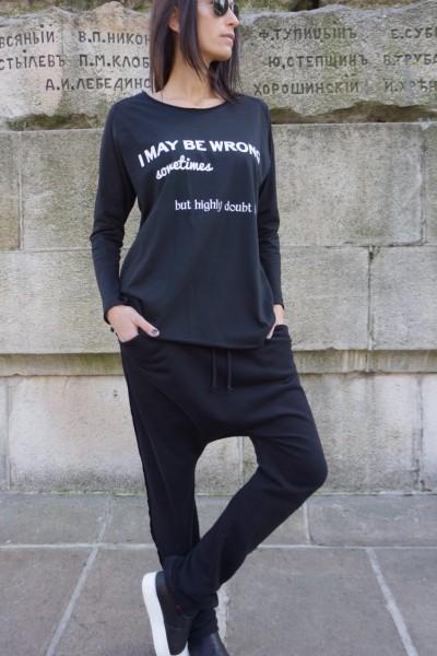 Black T-shirt  A224000045