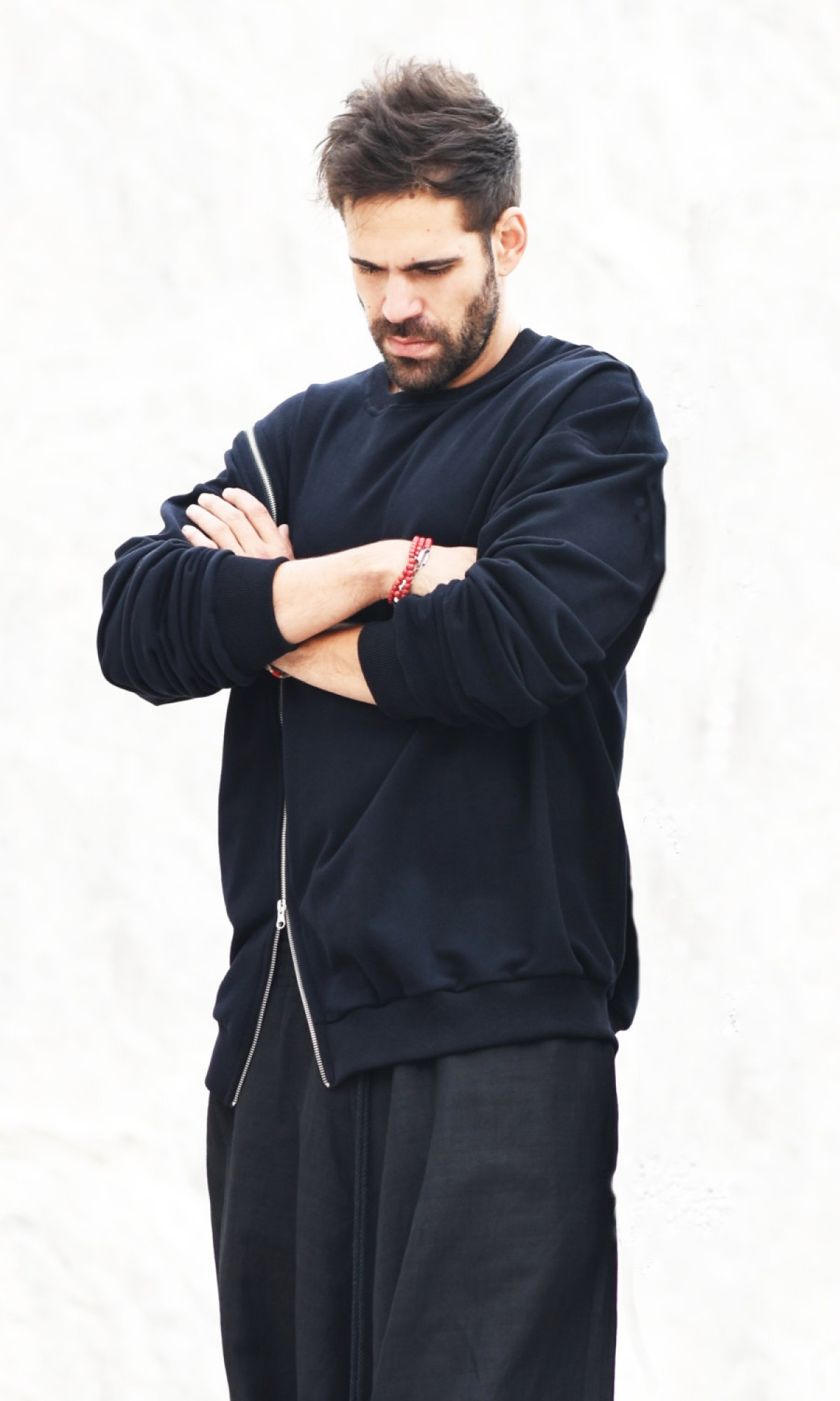 Black Soft Long Sleeve Sweatshirt