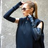 Black Sexy Sleeveless Gloves A18500