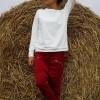Tops - Long-Sleeved Cotton Sweatshirt A12532