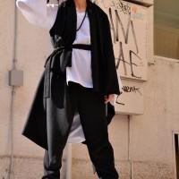 Cashmere Sleeveless Coat