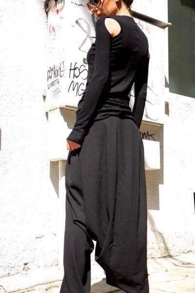 Black Sexy Top A12145