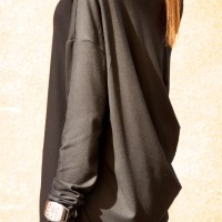 Tunics - Sexy Casual Tunic With a Loose Back A02200