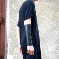 A Leather Cuff Bracelet