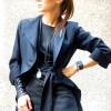 Extravagant Asymmetrical Buttoned Blazer