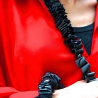 A Statement Leather Bracelet
