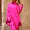 Asymmetric Knit Tunic