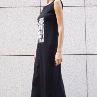 Dresses - Sexy Summer Black Maxi Dress A03436