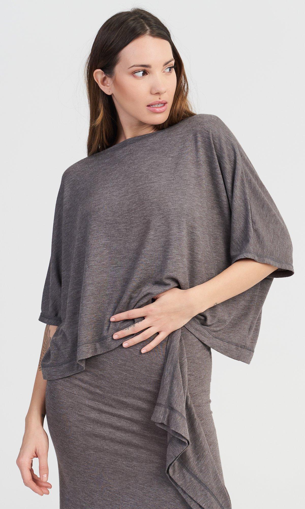 Fine Knit Top & Skirt Set