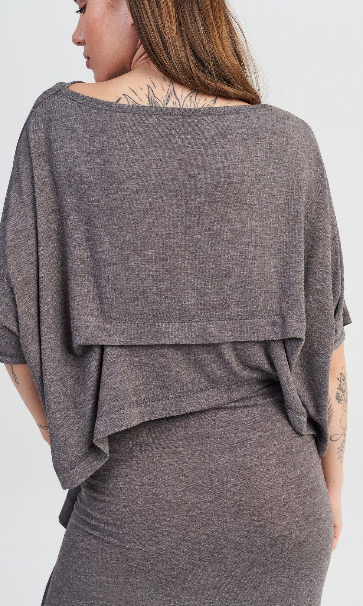 High Waist Skirt With Ruffle Detail
