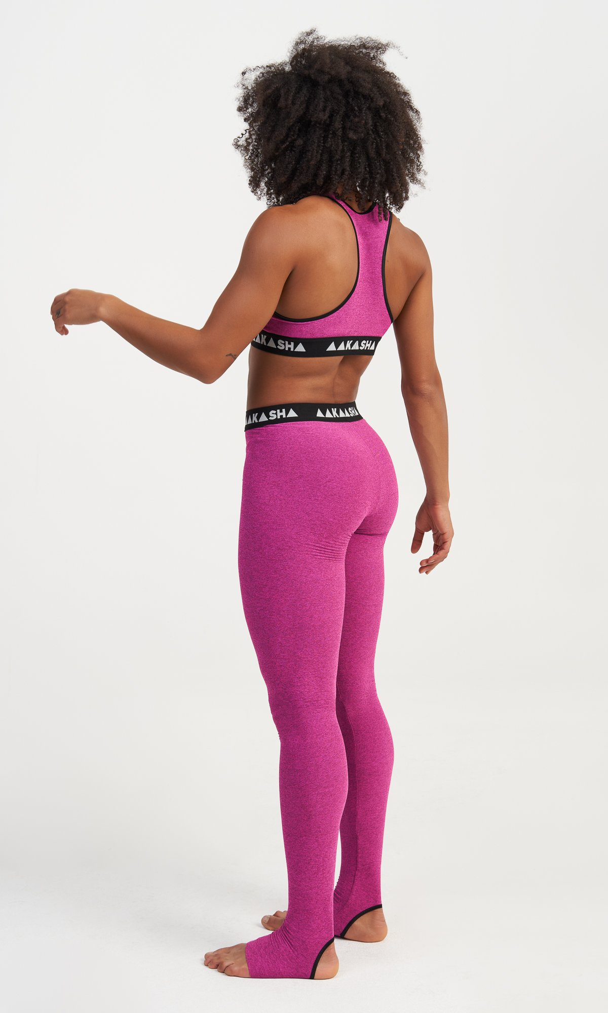Activewear Leggings With Elastic Band