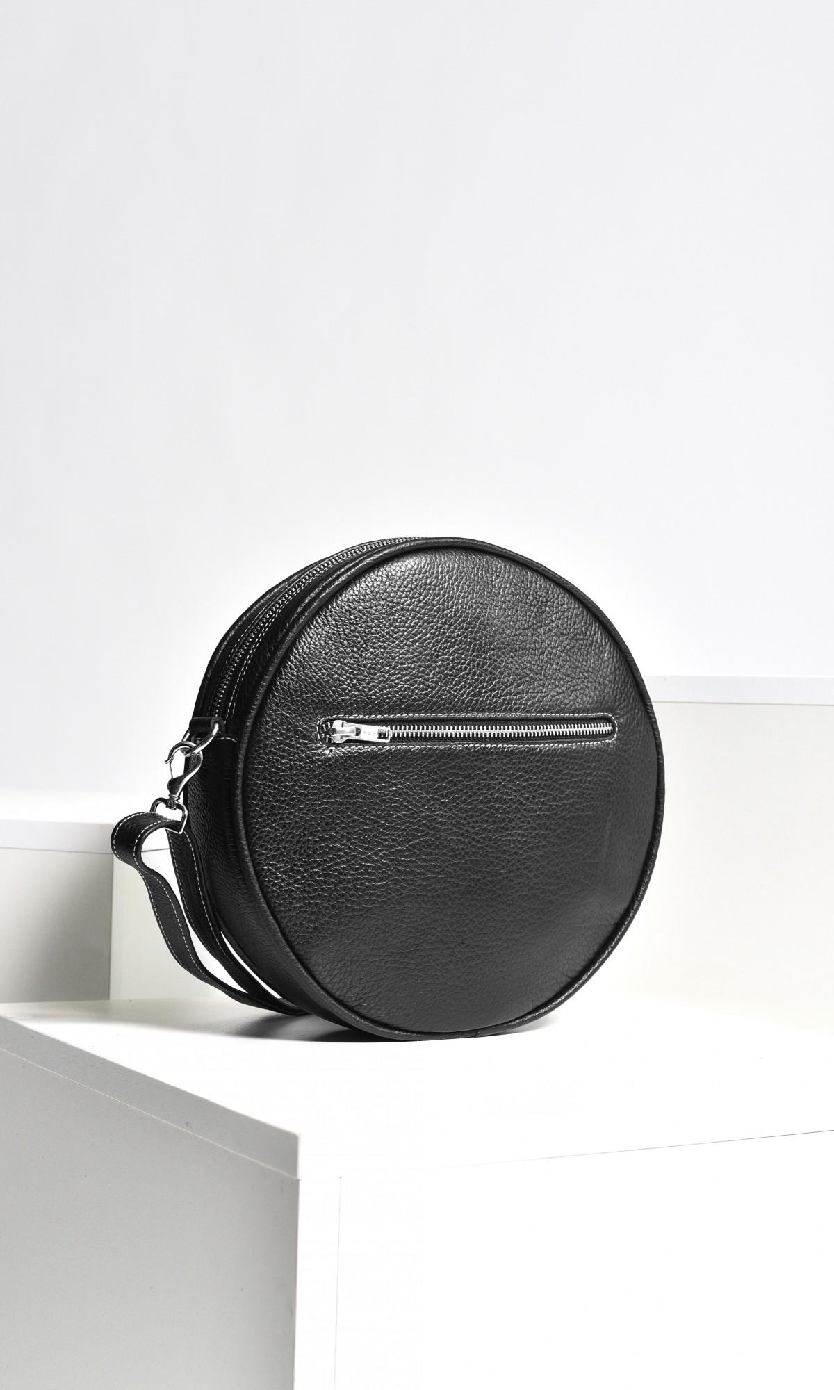 Aakasha Small Crossbody Circle Bag